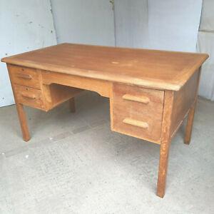 vintage,20thC,oak,3 drawer,office,desk,writing,work,table,file drawer,drawers,