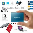 USB 3.1 External SSD Drives Portable Mobile Hard Drive 500GB 1TB 2TB 4TB