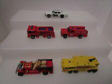 Hot Wheels Vintage Blackwall Era Emergency Vehicles Lot (HW14)