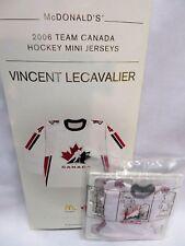 VINCENT LECAVALIER, 2006 Team Canada McDonald's Olympic Hockey Mini Jersey