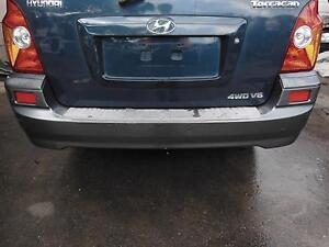 HYUNDAI TERRACAN REAR BUMPER 11/01-11/03