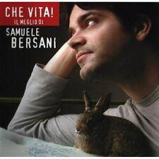 nuovo ancora incelofanato Che Vita!Il Meglio Di Samuele Bersani Formato Audio CD