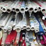 Designer Fabrics Off Cuts-Roll End, Scrap, Clearance Upholstery Curtain Remnants