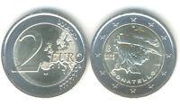 2 Euro Gedenkmünze 2016 Italien 550. Todestag Donatello