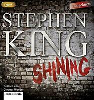 "Preisalarm! HORROR HÖRBUCH * Stephen Kings ""SHINING"" auf 3 MP3 CDs * NEU & OVP"