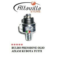 BULBO PRESSIONE OLIO MOTORE AIXAM KUBOTA K158413901 721 400 SCOUTY CROSSLINE