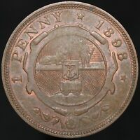 1898 | South Africa 1 Penny | Bronze | Coins | KM Coins