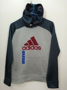 Adidas Polyester Youth Hoodie L-14/16