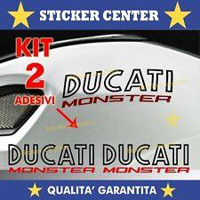 Adesivi Ducati Monster OLD STYLE SERBATOIO Bicolore