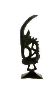 Ciwara Tiwara Chiwara Mali Arte Africano Tribale Ebano 774