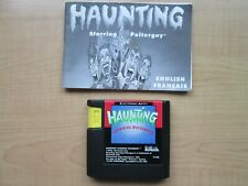 SEGA GENESIS - HAUNTING Starring Poltergeist  - Manual INCLUDED