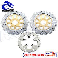 Front Rear Brake Rotors Disc SUZUKI GSXR 1100 89 00 GSXR600W 92 93 GSXR750 89-95