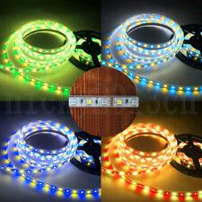 12V 5050 RGBW RGBWW LED Flexible Strip Light Tape Color Change Single Double Row
