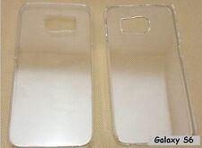 Coque Crystal Transparente Pour Samsung Galaxy S6 S6 Neuve