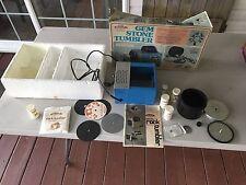 Skilcraft Gem Stone Jewelry Electric Tumbler, Grinding Wheel Polish Rocks Supply