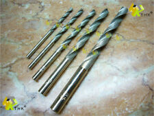"""1/8"""" - 5/16"""" inch (3.17 - 8mm) THK Diamond coated twist drill bit bits 5 pieces"""