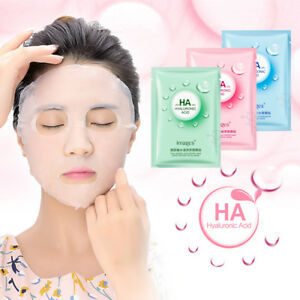Hyaluronic Acid Mask Moisturizing Face Mask Anti-aging Facial Care Cosmetic 1Pc