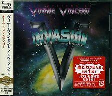 VINNIE VINCENT INVASION ALL SYSTEMS GO 2016 JAPAN RMST SHM HIGH FIDELITY CD
