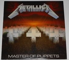 Metallica ‎– Master Of Puppets LP Original Japan Vinyl / No Obi (1986) Metal