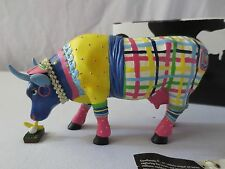 2004 Cow Parade #7702 Miss Udder Putter with Hang Tag, Retired! Atlanta Golfer