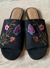 Nanette Lepore Valentina Black Slides Size 7