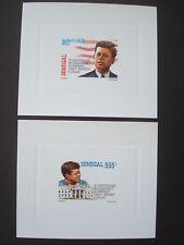 SENEGAL 1993 / 2 LUXE PROOFS / KENNEDY