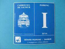 autocollant anciens : Carrousel de SAUMUR