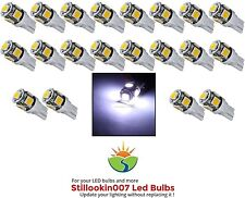 20 - Landscape light bulbs, COOL WHITE 5LED. Replaces 12v T5 Malibu bulbs