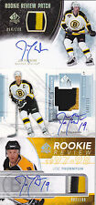 04-05 SP Authentic Joe Thornton /100 Auto Patch Rookie Review Autograph 2004