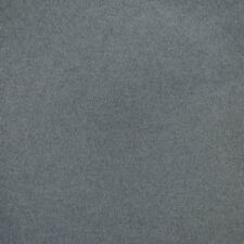 Ralph Lauren Grey Upholstery Fabric- Burke Wool Plain Charcoal 5.15 yd LCF64274F
