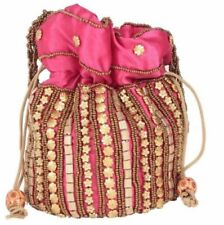Wedding Bridal Purse Clutch Pouch Indian Traditional Party Hand Potli Bags