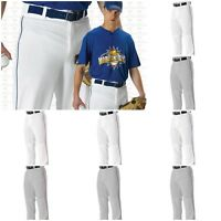 Alleson Youth Boys Ankle Length Baseball Pants With Piping Braid 605PLPY