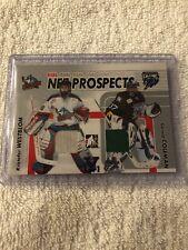05/06 ITG Dual Net Prospects Jerseys Westblom/Coleman Hockey Card #NPD04