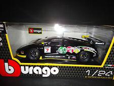BBURAGO LAMBORGHINI MURCIELAGO GT FIA Noir 1/24