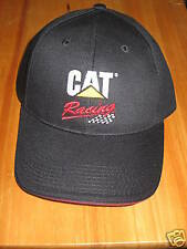 Caterpillar Ball Cap Hat black cat Racing logo