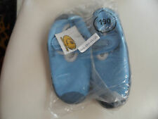 Child's blue water shoes size 1 (US), by Quacky sense