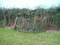 4m Pro 3ply Stealth Ghost Camo Net Pigeon Hide Shooting Professional Woodland UK