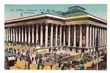 More details for la bourse - paris photo postcard c1906