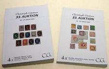 CHRISTOPH GARTNER 33 AUCTION Catalogue EUROPE (4.I) Germany (4.II) OCTOBER 2016