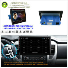 """9"""" 1Din Car Stereo Radio Android 9.0 4K Touch Screen Octa-Core 4-64GB GPS Player"""