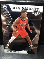 2019-20 Panini Mosaic NBA Debut #269 Zion Williamson Pelicans RC Rookie