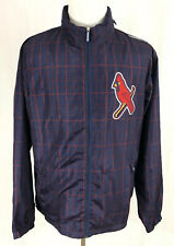 St. Louis Cardinals - Mitchell & Ness - Full-Zip Plaid Jacket - Men's Large
