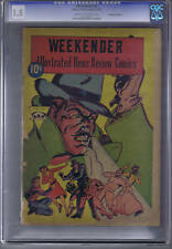 Weekender #4 Rucker Pub 1945 Canadian Edition Cgc 1.5(Fair/Good)