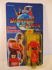 DEFENDERS OF THE EARTH FLASH GORDON FIGURE 1985 GALOOB MINT ON SEALED CARD
