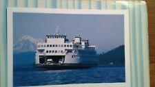 SWEET VINTAGE POST CARD SUPER FERRY THE SAN JUAN ISLANDS WASHINGTON STATE FERRY