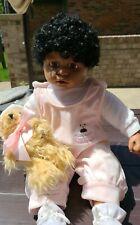 "Rare African American Duck House Heirloom Dolls #441 -19""Vintage"