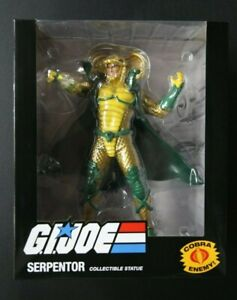 💎PCS PREMIUM COLLECTIBLES STUDIO GI JOE SERPENTOR STATUE💎