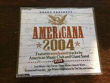 Various Artists - 'UNCUT Presents: Americana 2004' UK CD ALBUM (2004)