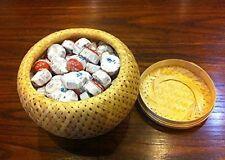 Pu erh mini tea cakes fermented Tuocha, top grade total 210 grams in bamboo box