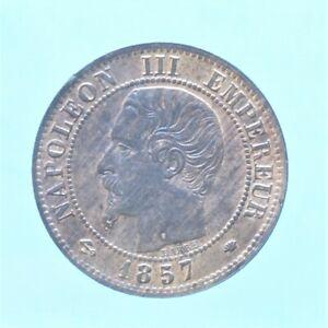 FRANCIA NAPOLEONE III CENTIME 1857 MONETE DA COLLEZIONE RAME COPPER COIN
